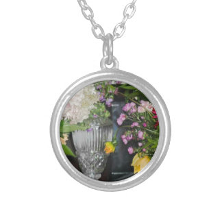 PSX_20161220_203716 Hideaway Farm Flowers Silver Plated Necklace