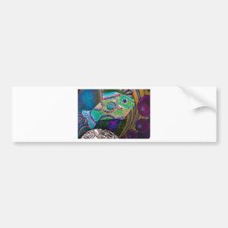 PSX_20161221_181703 Fish design Bumper Sticker