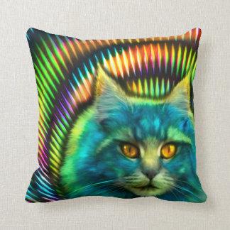 """Psy Cat"" Dekokissen Cushion"