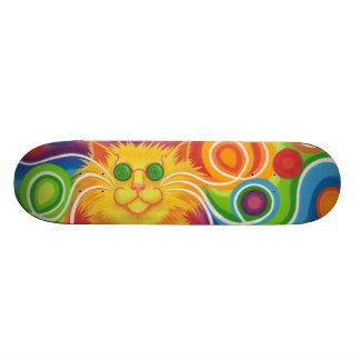 Psy-cat-delic skateboard