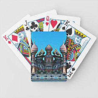 Psycgedelic Moscow Bicycle Playing Cards
