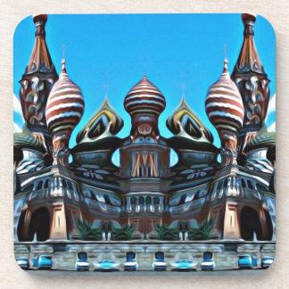 Psycgedelic Moscow Coaster
