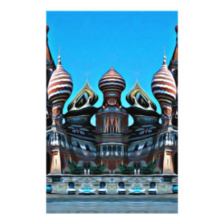Psycgedelic Moscow Customized Stationery