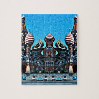 Psycgedelic Moscow Jigsaw Puzzle
