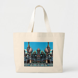 Psycgedelic Moscow Large Tote Bag