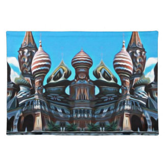 Psycgedelic Moscow Placemat