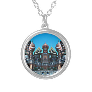 Psycgedelic Moscow Silver Plated Necklace