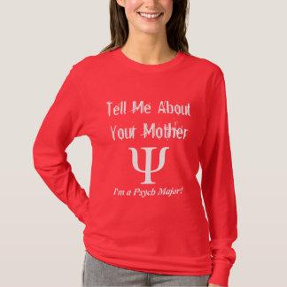 Psych Major - Ladies T-Shirt