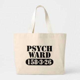 Psych Ward Jumbo Tote Bag