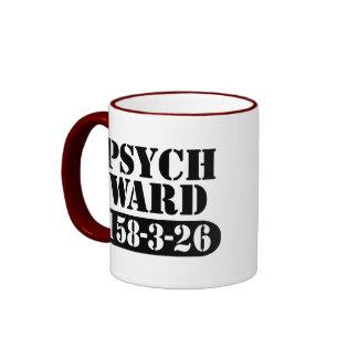 Psych Ward Ringer Coffee Mug