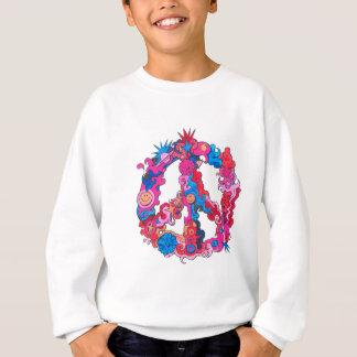 Psychdeclic Peace Symbol Sweatshirt