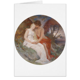 Psyche and Cupid Card