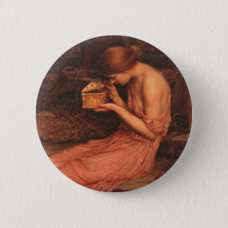 Psyche and Golden Box 6 Cm Round Badge