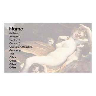 Psyche Is Kidnapped By The Winds,  By Prud'Hon Pie Business Card Templates