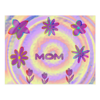 Psyched Out Mum Postcard