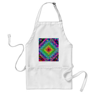 Psychedeli colors and Crystal Standard Apron