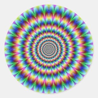 Psychedelia Round Sticker