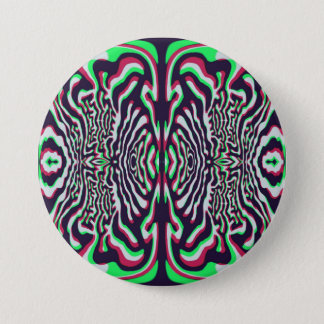 Psychedelic 7.5 Cm Round Badge