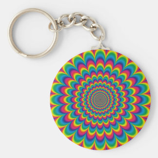 psychedelic #7 key ring