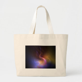 psychedelic abstract jumbo tote bag