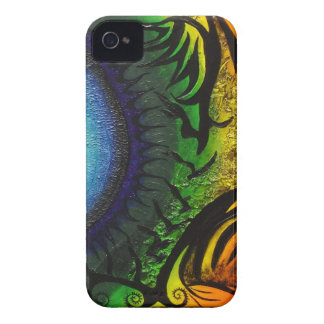 psychedelic abstract painting iPhone 4 covers