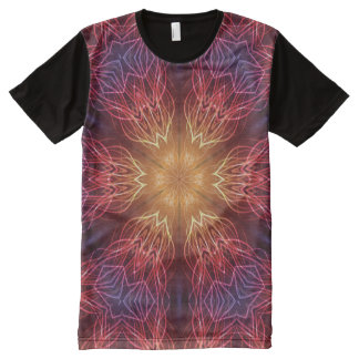 Psychedelic All-Over Shirt All-Over Print T-Shirt