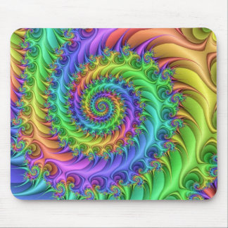 Psychedelic Art Pattern Mouse Pad