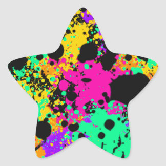 Psychedelic Art Products Star Sticker