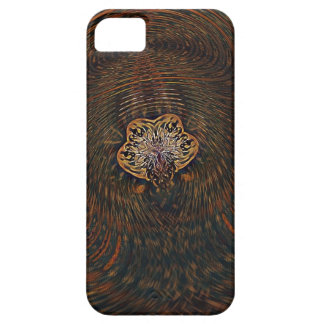 Psychedelic Atom Barely There iPhone 5 Case