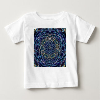 Psychedelic Atom Portal Pattern Baby T-Shirt