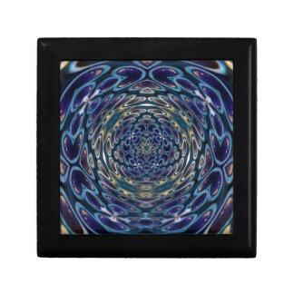 Psychedelic Atom Portal Pattern Gift Box