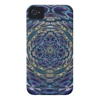 Psychedelic Atom Portal Pattern iPhone 4 Covers