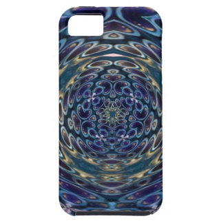 Psychedelic Atom Portal Pattern Tough iPhone 5 Case