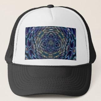 Psychedelic Atom Portal Pattern Trucker Hat
