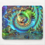 Psychedelic Bay Mouse Pad