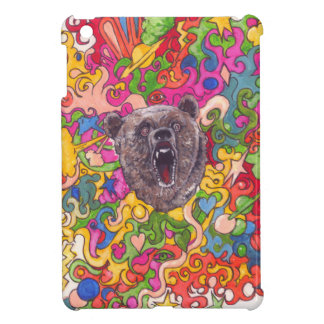 Psychedelic Bear Case For The iPad Mini