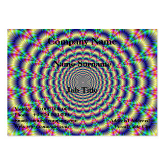 Psychedelic Beat Chubby Business Card