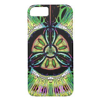Psychedelic bio-hazard symbol (or whatever u see) iPhone 8/7 case