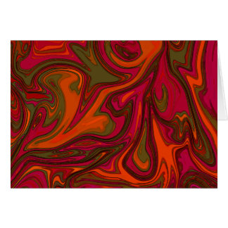 Psychedelic Bohemian Greeting Card All Occasion