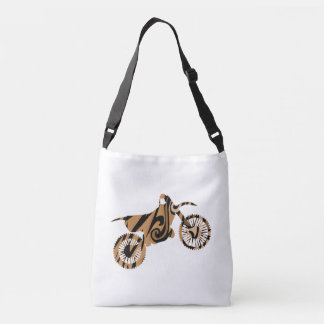 Psychedelic Brown Dirt Bike Bag