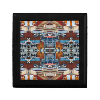 Psychedelic Building Pattern Gift Box