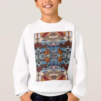 Psychedelic Building Pattern Sweatshirt