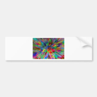 Psychedelic Bumper Sticker