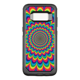 Psychedelic Burst OtterBox Commuter Samsung Galaxy S8 Case