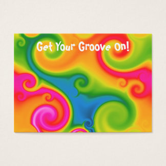 Psychedelic Business Card