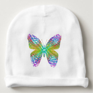 Psychedelic butterfly. baby beanie