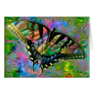 [Psychedelic Butterfly] Colourful - Any Occasion Card