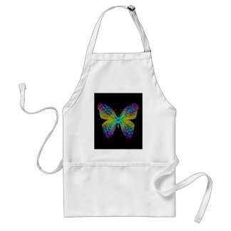Psychedelic butterfly. standard apron