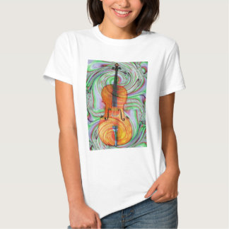 Psychedelic Cello Tee Shirt