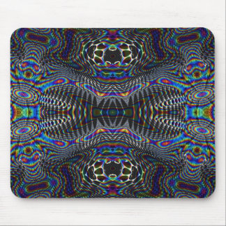 Psychedelic cells mouse pad
